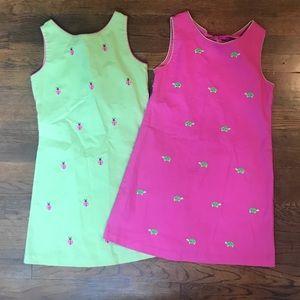 TWO Cotton Rare Edition Dresses Twin Sun Dress